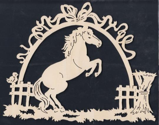 FBA 249 steigendes Pferd im Bogen