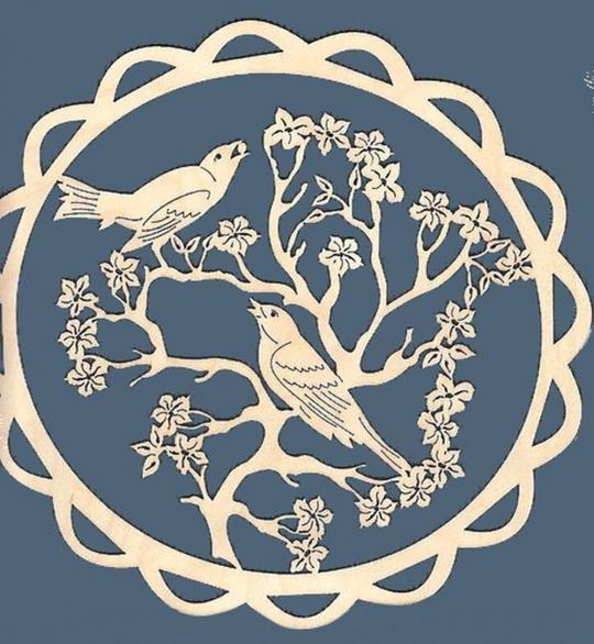 FBA 305 Vögel rund