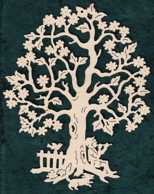 FBA 353 Baum mitFlötenspieler