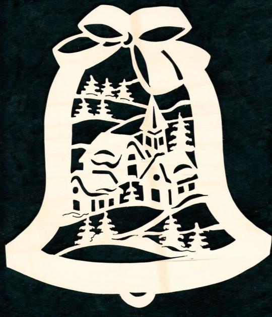 FBW 554 Glocke mit Dorf