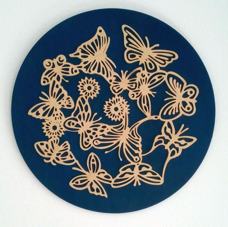 WB 039 Schmetterlinge rund