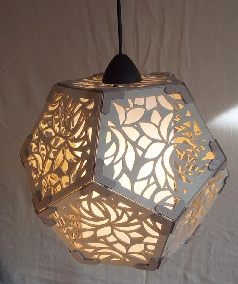L 002 Designhängeleuchte Kaleidoskop