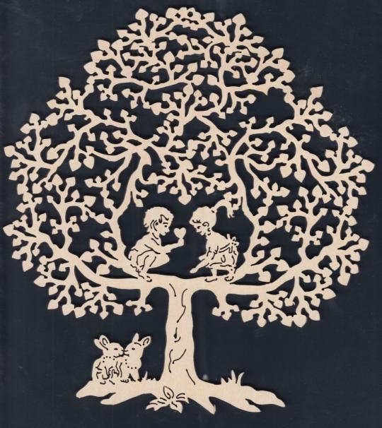 FBA 235 Baum mit Kindern