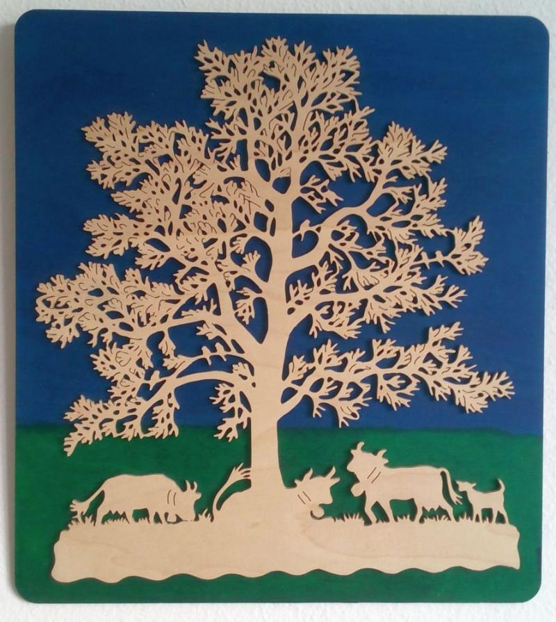 FBA 236 Baum mit Kühen