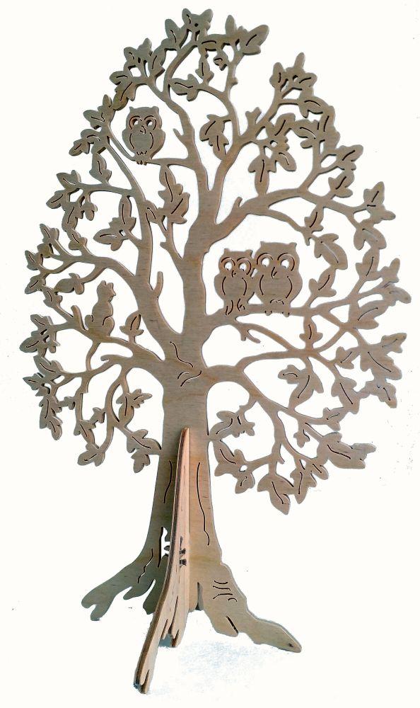 FBA 238 Baum mit Eulen