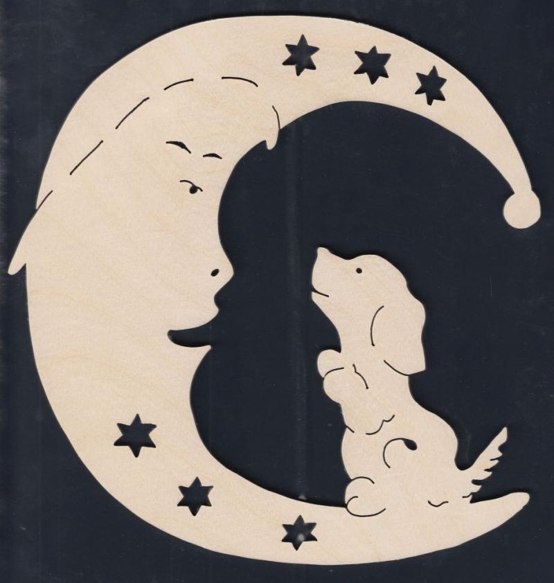 FBA 265 Mond mit Hund