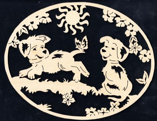 FBA 266 Hundekinder oval