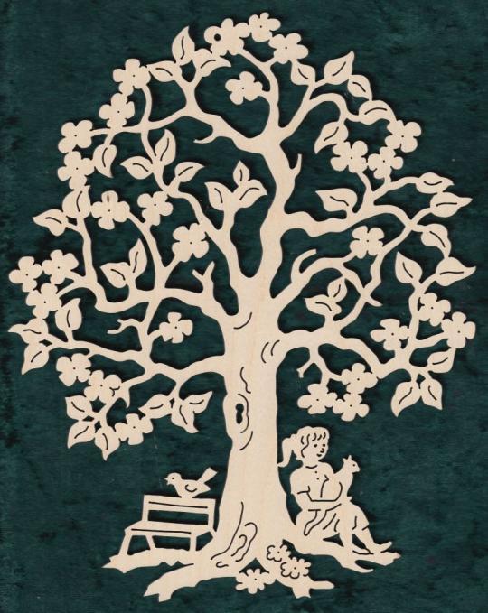 FBA 354 Baum mit Mädchen