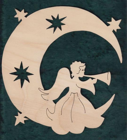 FBW 528 Mond mit Trompetenengel