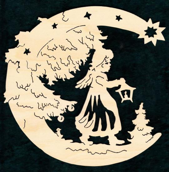 FBW 555 Mond mit Laternenengel