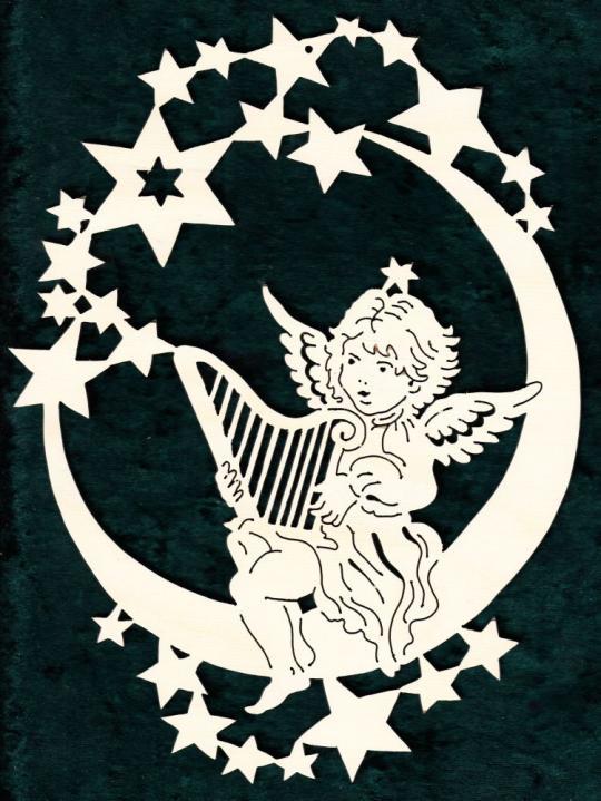 FBW 583 Sternenmond mit Harfenengel