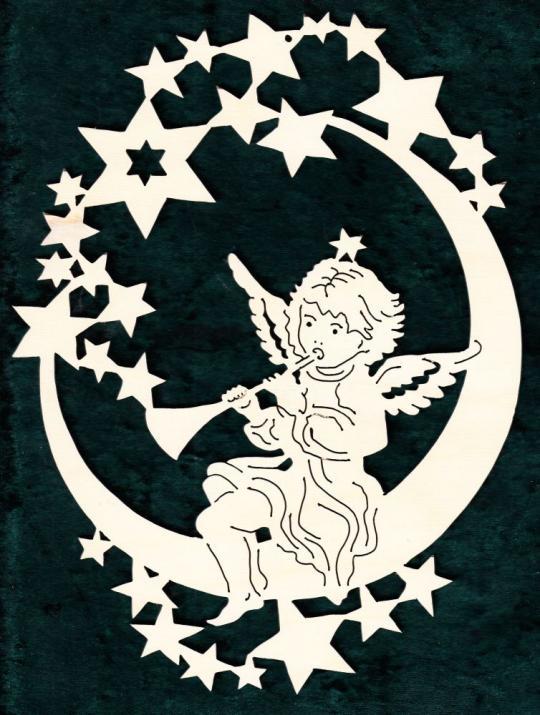 FBW 584 Sternenmond mit Posaunenengel