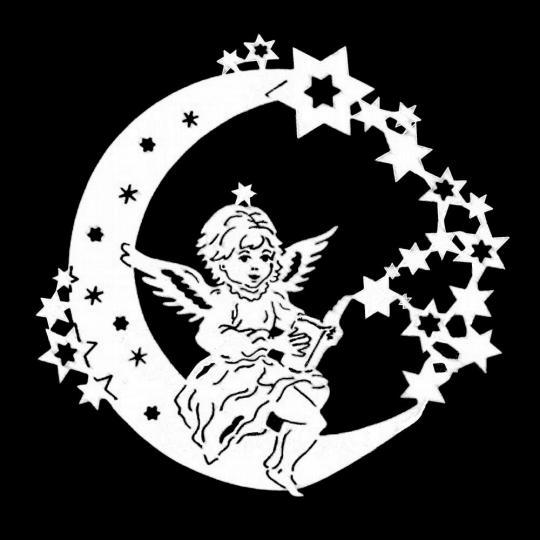 FBW 605 Sternenmond Engel mit Gesangbuch