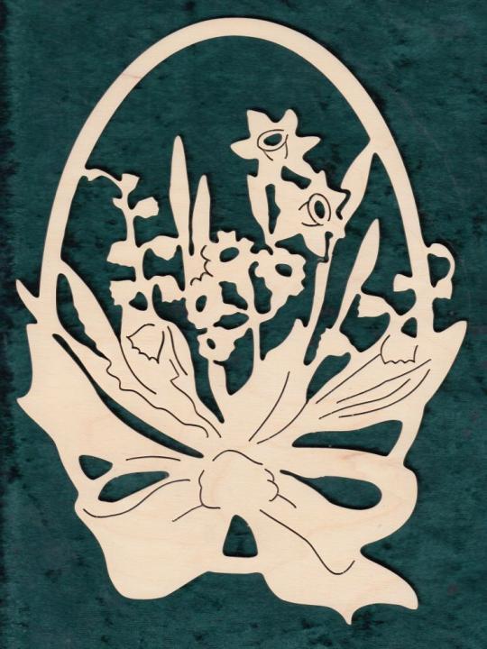 FBO 005 Ei mit Blumen