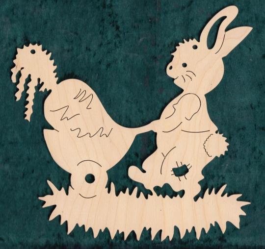 FBO 018 Hase mit Möhrenkarre