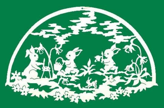 FBO 021 Hasenfamilie Bogen
