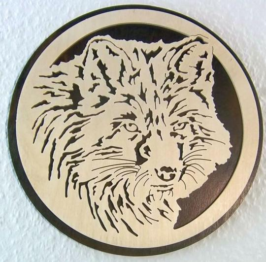 WB 001 Wolfkopf rund
