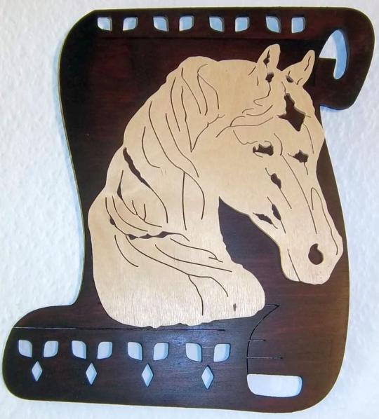 WB 004 Papyrus mit Pferdekopf