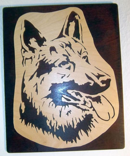 WB 008 Hundekopf Schäferhung