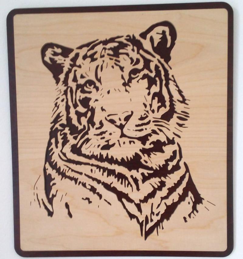 WB 050 Tigerkopf