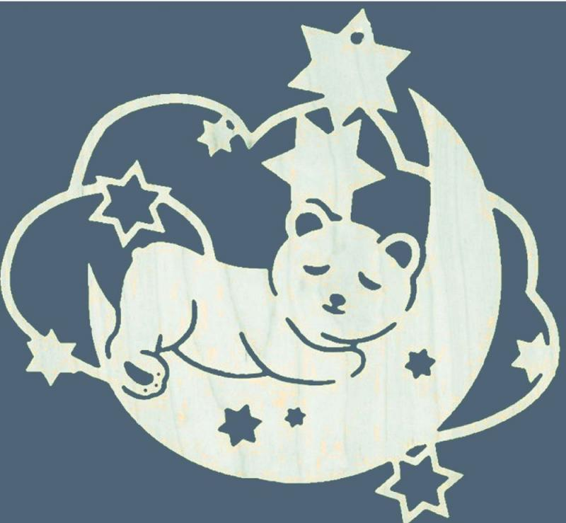 FBA 174 Mond mit Teddy