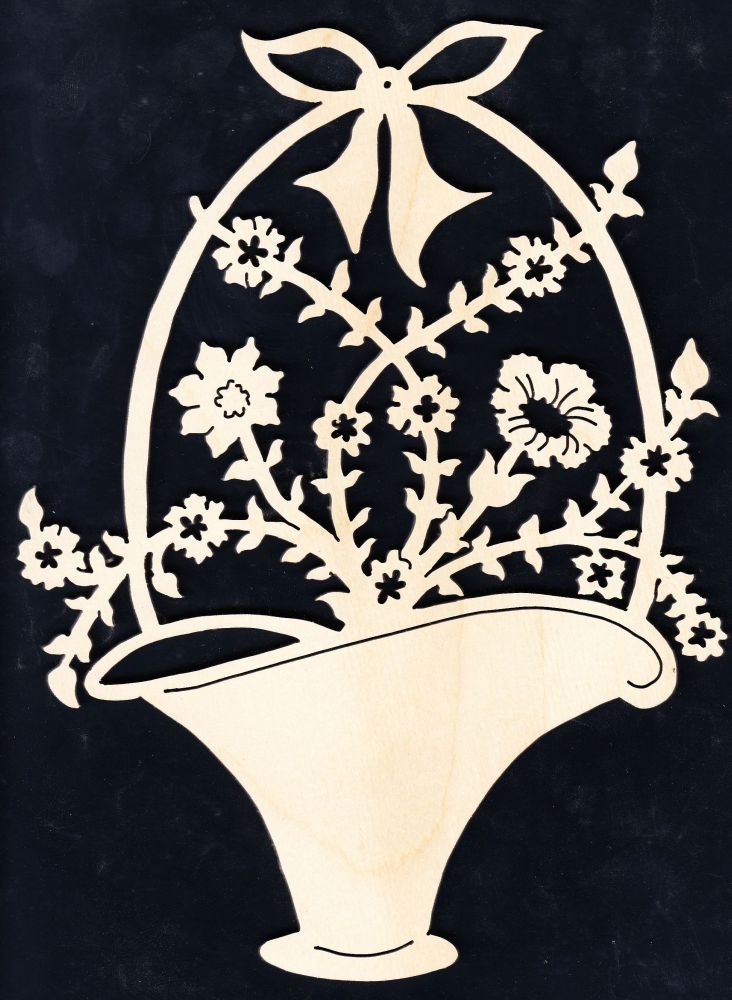 FBA 108 kleiner Blumenkorb