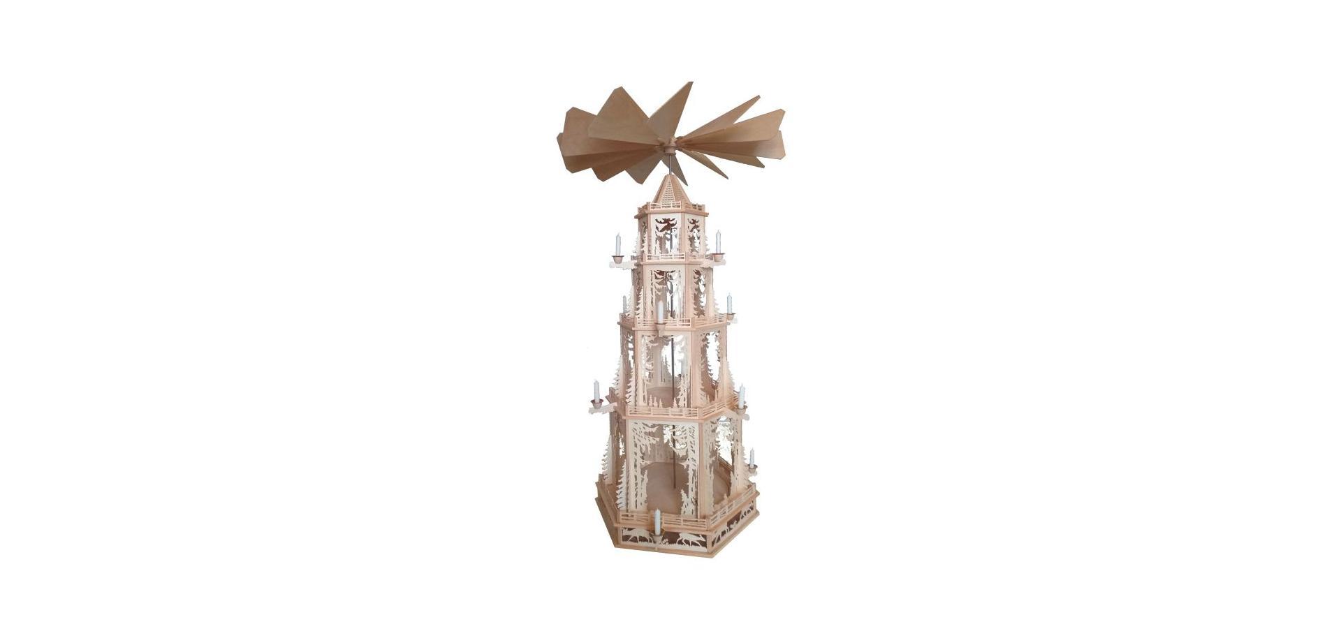 Weihnachten, Pyramiden, Festartikel, Erzgebirge, Holzkunstatelier
